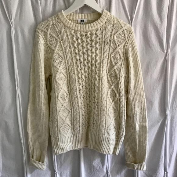 Uniqlo Sweaters Uniqlo Cable Knit Sweater Poshmark